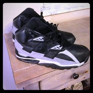 """Nike Air Trainer High """"Bo Jackson's"""" Size 11 Blk"""